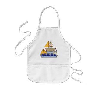 Sailor Boy Kids' Apron