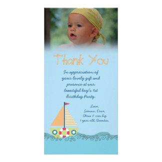 Sailor Boy Thank You for the Gift Photocard Photo Card