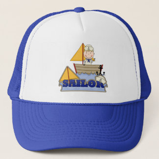 Sailor Boy Trucker Hat