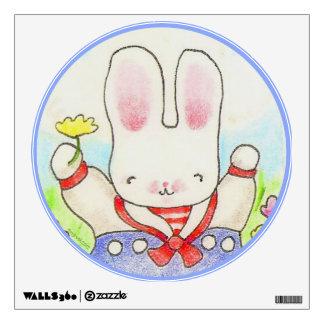 Sailor Bunny wall decal
