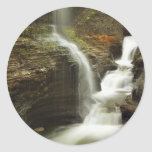 Sailor Canyon Falls Round Stickers