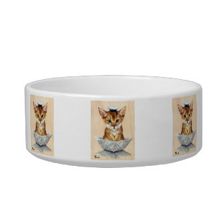 Sailor Cat Bowl