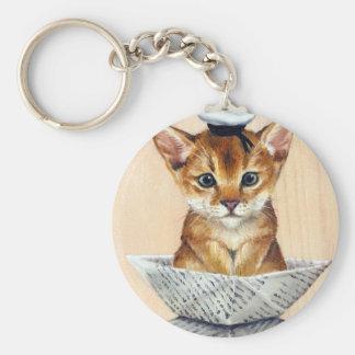 Sailor Cat Keychain