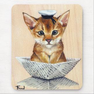 Sailor Cat Mouse Pad