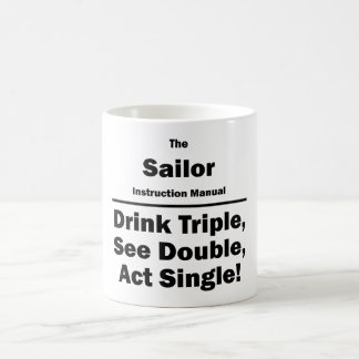 sailor coffee mug