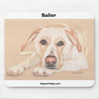 Sailor, dogeachday.com mouse pad