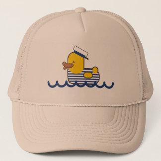 Sailor duck trucker hat