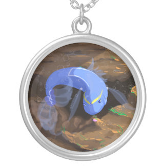 Sailor Fish Silver Plated Necklace