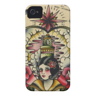 sailor girl Case-Mate iPhone 4 case