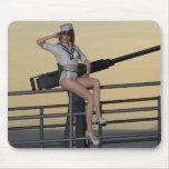 Sailor Girl Tori Mousepad