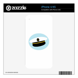 Sailor Hat Decal For iPhone 4