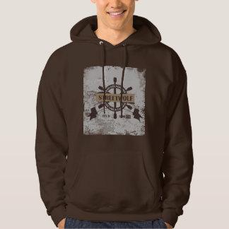 Sailor Hooded Printed Sweatshirt