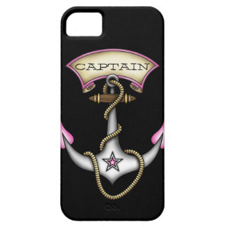 Sailor Jerry Tattoo Anchor Pink Personalize iPhone 5 Cases