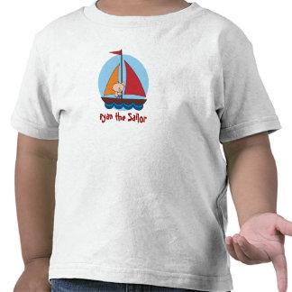 Sailor kid on a yacht T-Shirt