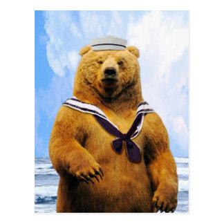 Sailor Marine Bear! Postcards