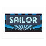 Sailor Marquee Post Card