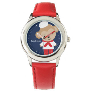 Sailor Monkey Personalized Kid's Watch