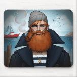 """""""Sailor"""" Mouse Pad by Glen Hanson"""