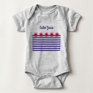 sailor my sailor baby bodysuit