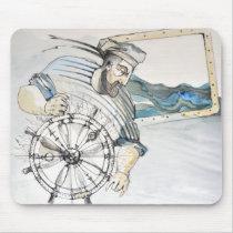 Sailor  nautical decoration mouse pad