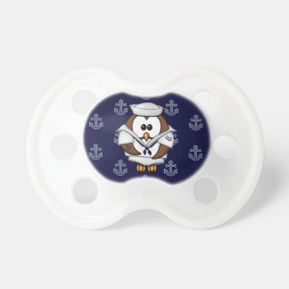 sailor owl baby pacifiers