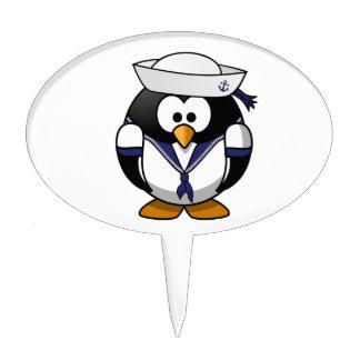 Sailor Penguin Cake Topper