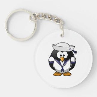 Sailor Penguin Cute Cartoon Keychain