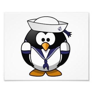 Sailor Penguin Cute Cartoon Photo Art