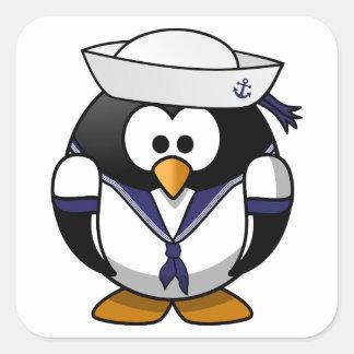 Sailor Penguin Cute Cartoon Stickers