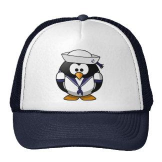 Sailor Penguin Mesh Hats