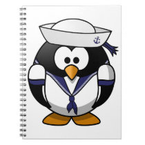 Sailor Penguin Notebook