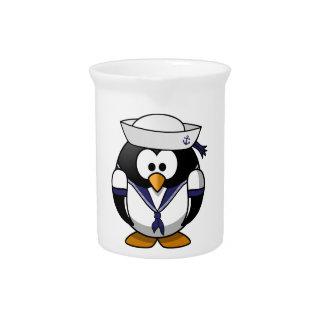 Sailor Penguin Pitcher