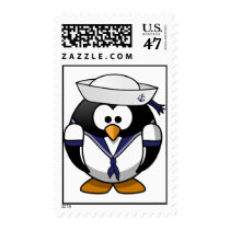 Sailor Penguin Postage