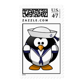 Sailor Penguin Postage