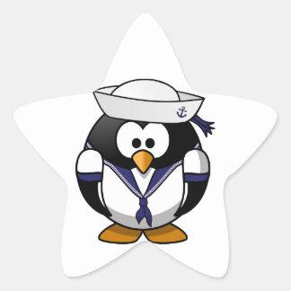 Sailor Penguin Star Sticker