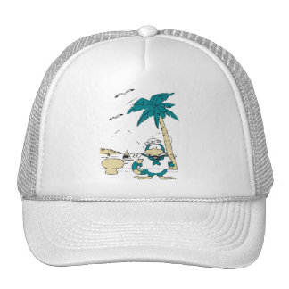 Sailor Penguin T-shirts and Gifts Mesh Hats