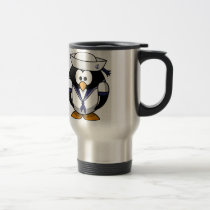 Sailor Penguin Travel Mug