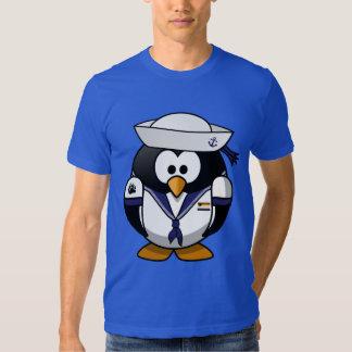 Sailor Penguin With Gay bear Pride Motifs - Shirt