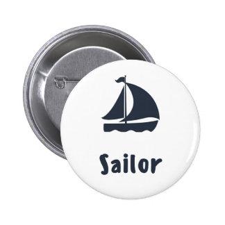 Sailor Pinback Button