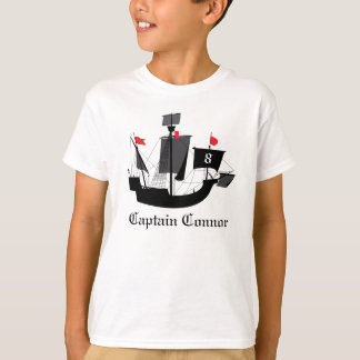 Sailor Pirate Boys Birthday T Shirt