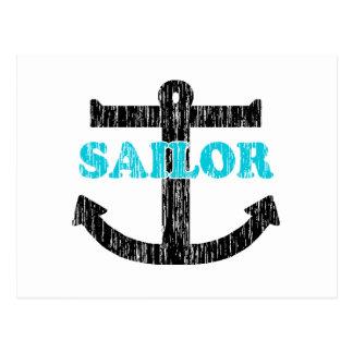 Sailor Postcard
