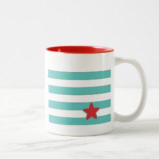Sailor Star Style Stripes Mugs