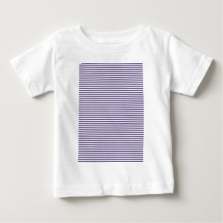 Sailor Stripes - Navy Blue and White Baby T-Shirt