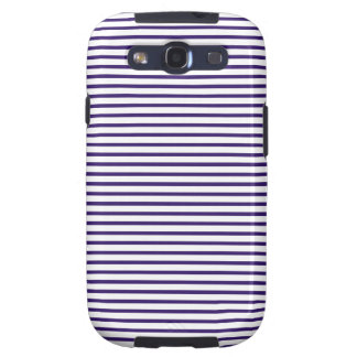 Sailor Stripes - Navy Blue and White Samsung Galaxy SIII Case