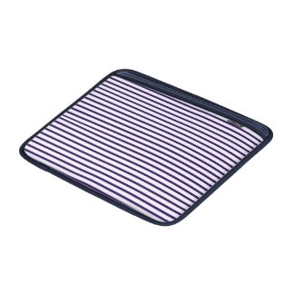 Sailor Stripes - Navy Blue and White Sleeves For MacBook Air