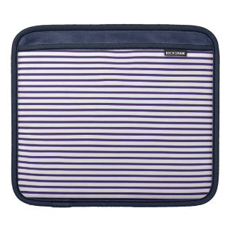 Sailor Stripes - Navy Blue and White Sleeve For iPads