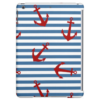 Sailor Stripes Pattern Art iPad Air Case