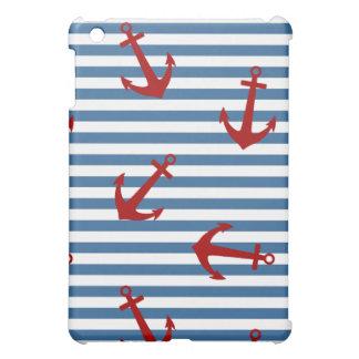 Sailor Stripes Pattern Art iPad Mini Case