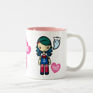 Sailor Sue Two-Tone Coffee Mug