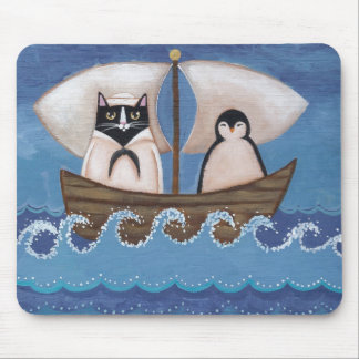Sailor & the Penguin Mouse Pad